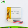 GEB factory rechargeable lipo battery 3.7v 372730 220mah for wearable devices