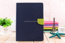 Korea CONTRAST COLOR Mercury Fancy Diary TPU Leather Case for ipad mini 1/mini2/mini3