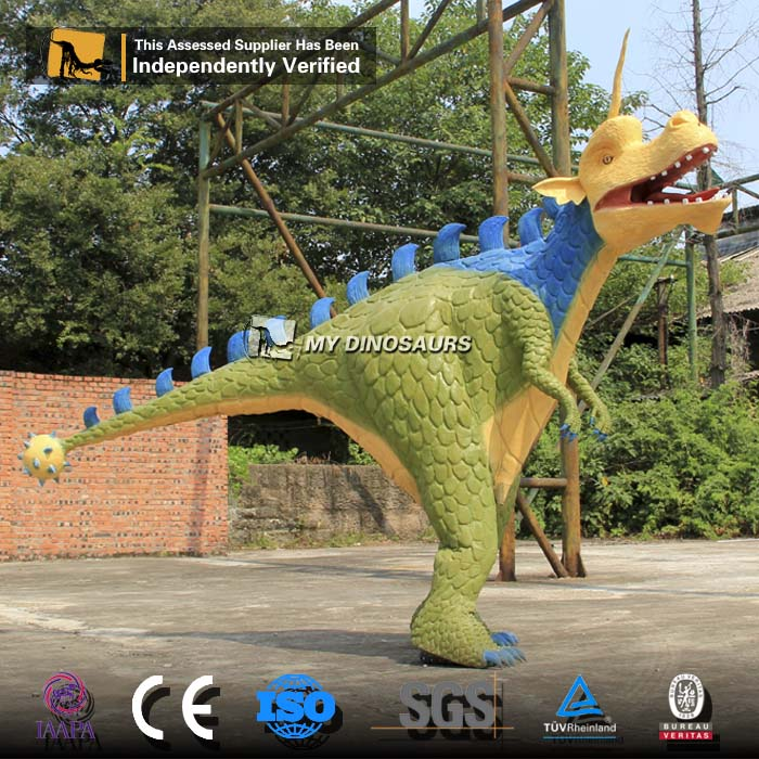 MY DINO <strong>C010</strong> Dinosaur Theme Park Realistic 3D Adult Dragon Costume