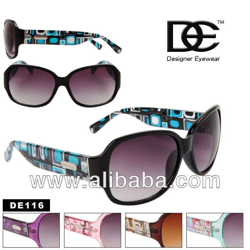 DE 116 Fashion Design for women Sunglasses Designer Eyewear