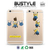 High Quality Soft tpu Mobile Shell Case For iPhone 4 5 5s 6 6s plus with popular 3D Despicable Me Design