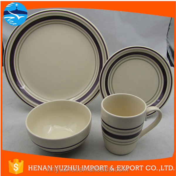 bulk products from china lead free cadmium free dinnerware