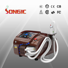 Good business opportunity two handles RF+HR IPL hair removal equipment
