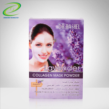 Face Beauty Mask Fade Freckle Smoothing Soften And Oil Control Modeling Face Mask Powder With Lavender Collagen