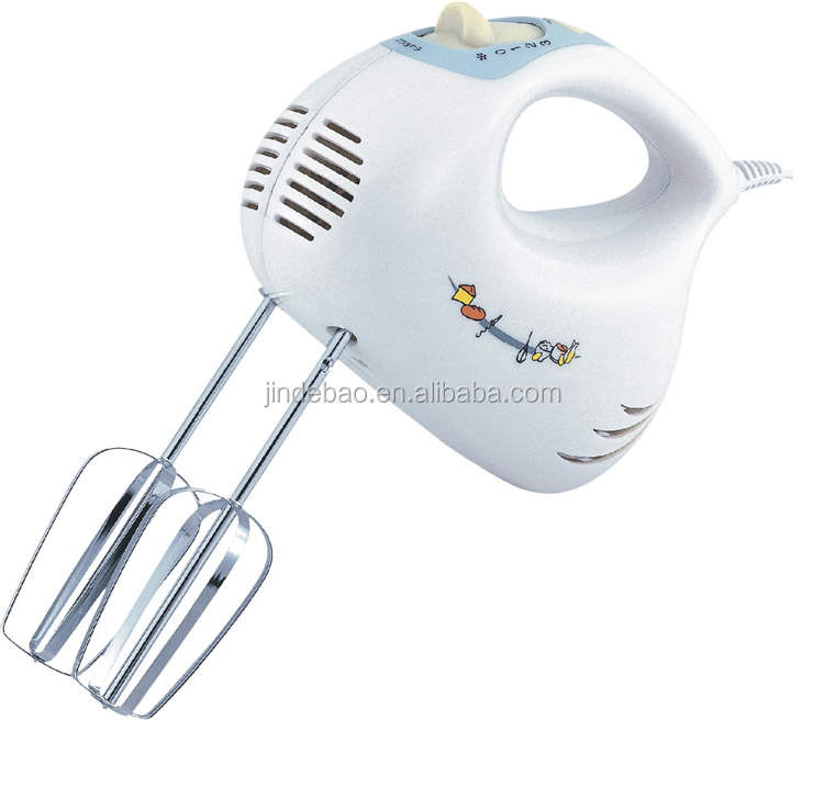 High Quality 3 speeds Plastic Housing Hand Whisk Egg Beater Hand Mixer