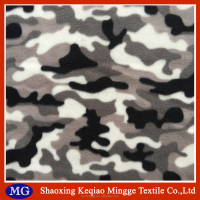 100% polyester custom printed polar fleece fabric