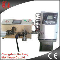 Hot sale HC-608PMJ automatic wire cutting and stripping inkjet marking machine