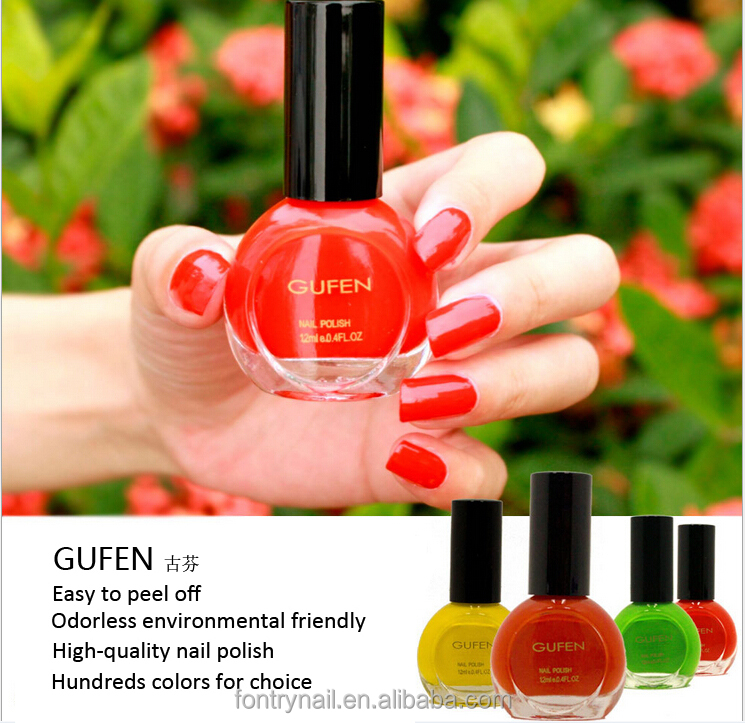 OEM Private Label Water based nail polish /Not oil based