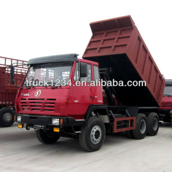 SHACMAN Left Hand Drive Tipper Truck