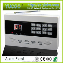 Smart home automation Latest design alarm panel with LCD display