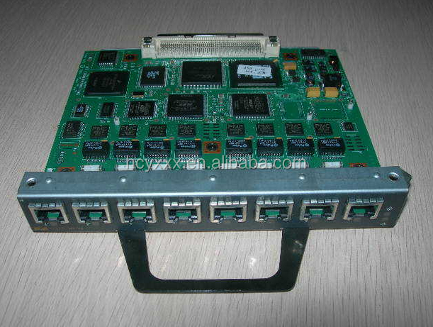 PA-MC-8TE1+ Used Cisco 7200 Series Port Adapters Network Module