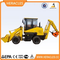 China cheap 4 in 1 bucket mini wheel loader