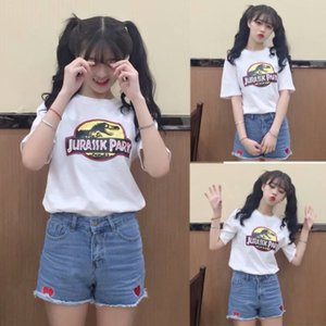 Girls Fashion New Style Korean Style Cheap and Beautiful T-shirt