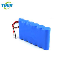 100% DOD 500cycles 12v 5ah Rechargeable lithium ion battery pack