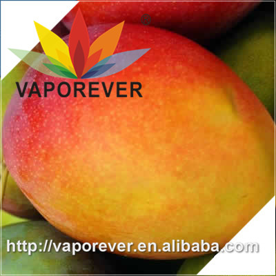 Vaporever mango vape juice flavour concentrate in PG based for e juce liquid base