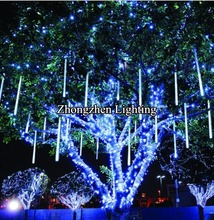 holiday time super bright outdoor 80cm led Meteor lights