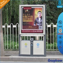 Bus stop publicity light box advertising bill board for export