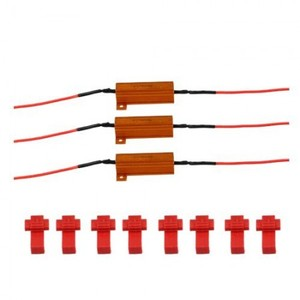 4 LED Bulb Load Resistor Turn Signal Flash Controller