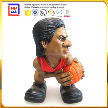 NW direct factory basketball statue and basketball player statue wholesale