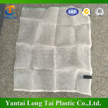white black date packaging mesh net bag for export