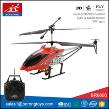 hot sale led light flying toys 3.5CH powerful big rc helicopter free with gyro BR6806