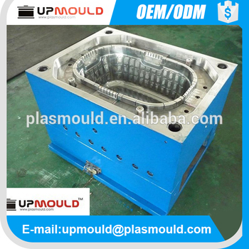 Customized Steel Mold for Plastic Crate & Bin Plastic Injection Mould