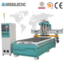 New furniture making mdf cutting ATC router vertical drilling cnc machine
