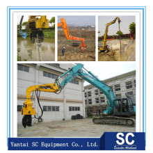 excavator mounted sheet pile hammer hydraulic vibro With Promotional Price