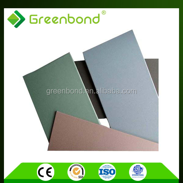 Greenbond aluminum screen room building materials of exterior outside