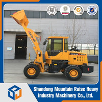 Earth Moving Machinery 2Ton Wheel Loader For Construction