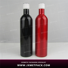 Frosted Recycled Aluminum large wine bottles sale