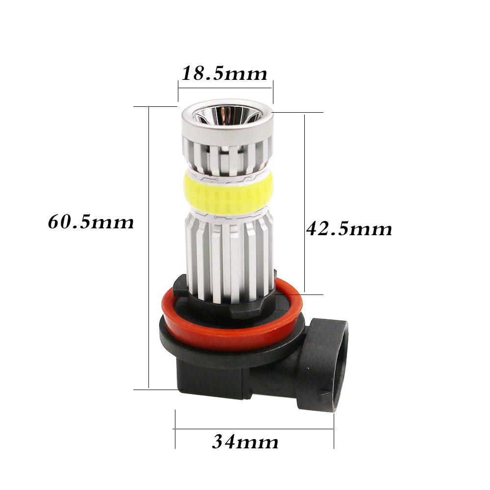 Novel design hot sales in global  IP65 360 degree light source high power car led fog lamps 2000lm Auto conversion kit