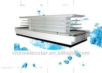 island refrigerated display case for supermarket refrigerated equipment use