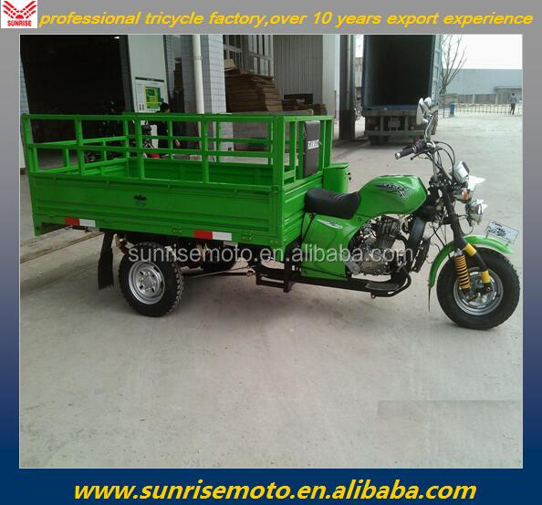 200CC cargo 3 wheel tricycle, tricycle cargo for 175cc, tricycle motorcycle with LED headlight