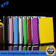 HXY Electroplate chrome plastic case for ipad 2