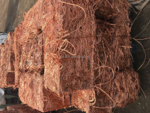 used cable pure millberry copper wire scrap