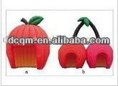 Attractive Red Apple Camping Special Inflatable Tent
