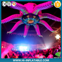 Stage/Club/Ball/Party decoration customized inflatable tentacle,party decorations with inflatable jellyfish