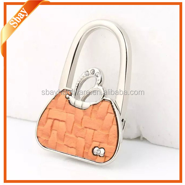 2016 new style custom bulk purse hook for tables