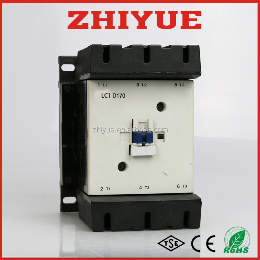 new type 12v 24v CJX2 170a lc1d-170 magnetic ac contactor