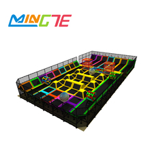 Commercial Used Colorful Indoor Trampoline Park For Sale