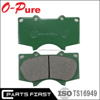 04465-0C020 Auto Parts Ultra-Premium Stock Front Disc Car Brake Pad for Toyota Land Cruiser LEXUS LX570 04465-60280 D2278M