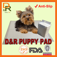 High absorbent disposable pet traininig pad dog urine underpad puppy training pad