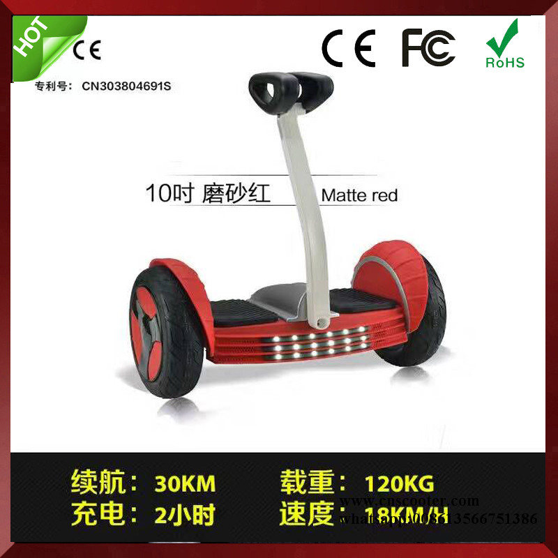 10 Inch Self Balance Electric Scooter Two Wheel Smart