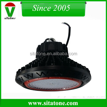 1-10v dimming PWM signal 60 degree 150W slim UFO led high bay light
