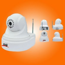 ip burglar alarm video camera sending alarm and video information to monitoring center after alarm accessories triggered
