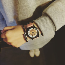 lady cool wooden texture watch design,women watches(pw165)
