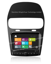 Car DVD player with GPS for Fiat Freemont with design similar to Windows8