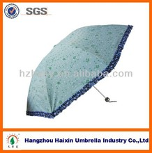 Wholesale Cheap Chinese Folding Umbrella with Pouch