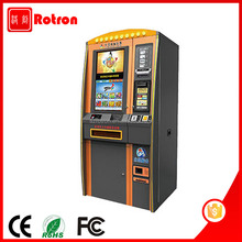 Multifunctional Steel Frame floor standing Lottery vending machine with coin acceptor